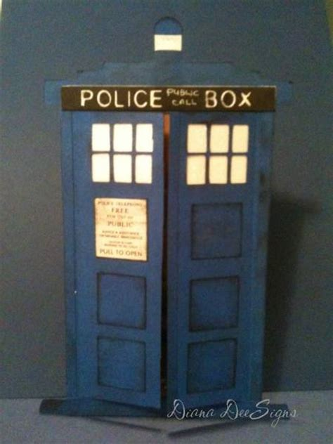 how to make a tardis card tardis birthday card by dianadee at splitcoaststers