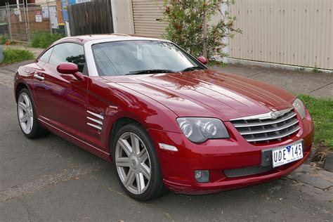 chrysler car chrysler crossfire