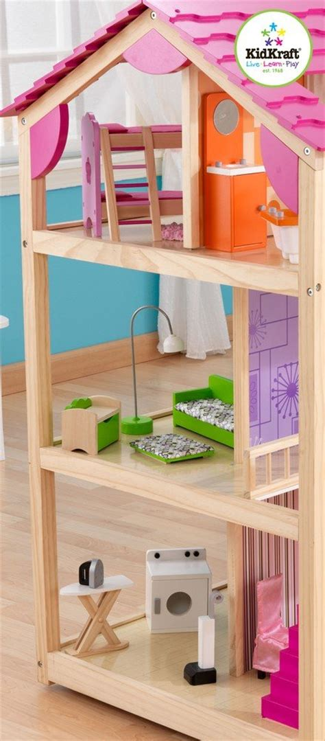 amazon doll houses amazon com kidkraft so chic dollhouse with furniture toys games