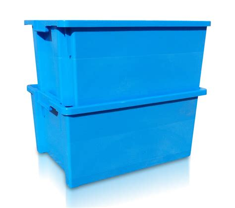 large stackable and nestable food grade plastic containers - Large Food Grade Storage Containers