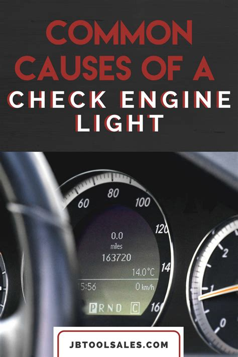 Common Causes Of Check Engine Light Jb Tool Sales Inc