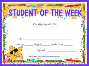 Of The Week Certificate Template by Sle Printable Certificate Templates For Excel Pdf And Word