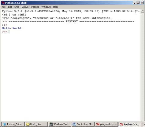 tutorial python shell python idle stop program bgmaster