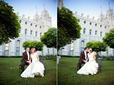 Salt Lake City Temple Wedding   Ravenberg Photography