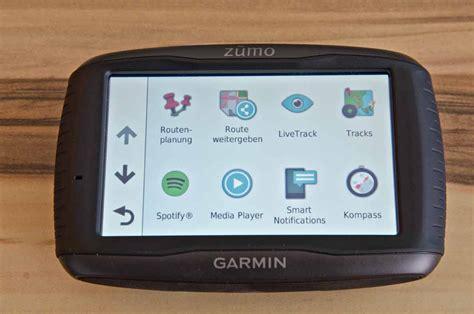 Motorrad Navi Test Garmin 590lm by Garmin Zumo 595lm Test Motorrad Navigation