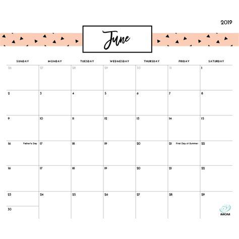printable calendars imom
