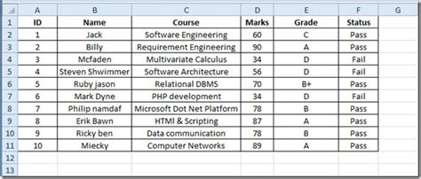 ranking values in excel 2010 with rank function