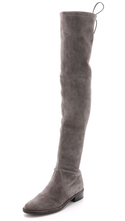 The Knee Boot by Stuart Weitzman Lowland The Knee Boots Londra In