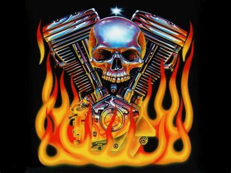 Selimut Motor Harley Davidson Skull harley wallpaper wallpapers skullls desktop harley