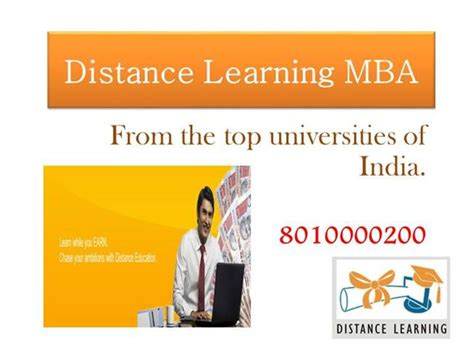 Getting My Mba At 30 by Distance Learning Mba Sep 30 Ppt Presentation