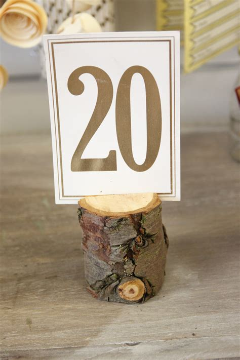 wooden number holders wood log number holders beyond expectations