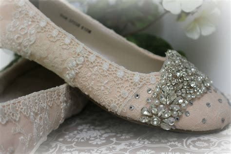 Blush Flat Wedding Shoes by Blush Wedding Ballet Flats Ballet Flats Wedding Shoes