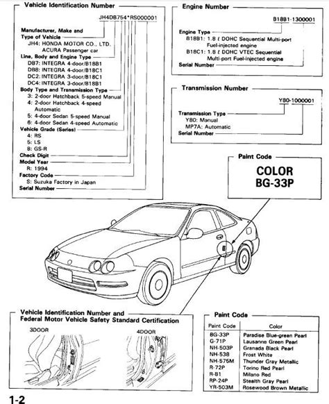auto repair manual online 1998 acura integra seat position control acura integra db7 db8 dc2 dc4 1998 repair manual download