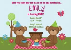 teddy picnic outdoor tea printable birthday invitation katiebellepaperie digital