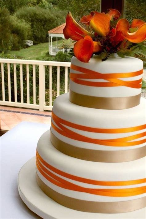 Simple Wedding Cake Ideas For Fall by Spectacular Fall Wedding Cake Ideas Modwedding