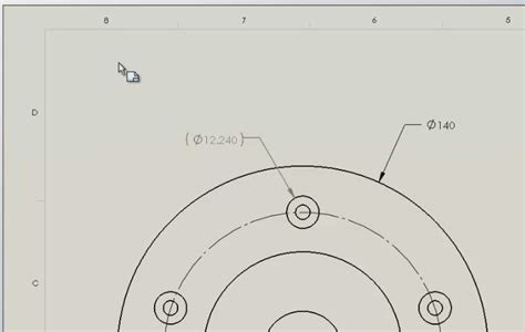 Combine 2 Sketches Solidworks by Using The Note Feature To Combine Drawing Dimensions