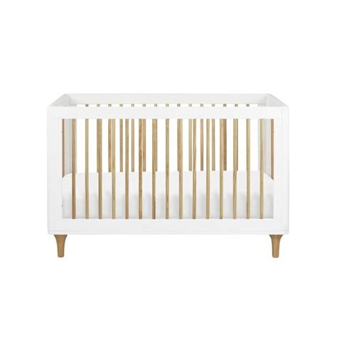 Babyletto White Crib by Babyletto Lolly 3 In 1 Convertible Crib In White And