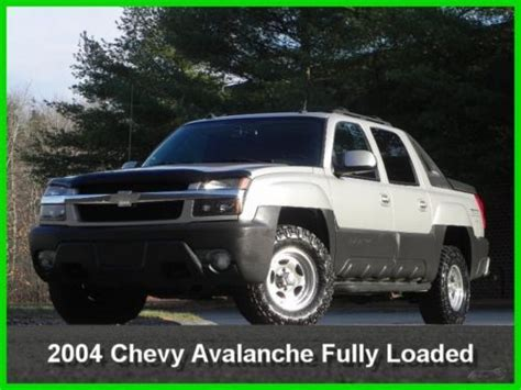 how to sell used cars 2004 chevrolet avalanche 1500 windshield wipe control sell used 2004 chevrolet chevy avalanche 1500 crew cab z71