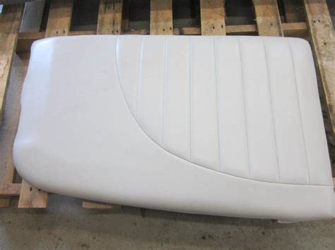green boat cushions mastercraft ski boat seat cushion white vinyl green bay