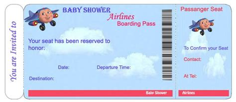 Baby Shower Invitations Templates For Boys Free Baby Shower Printables For An Airplane Theme Airplane Baby Shower Invitation Templates