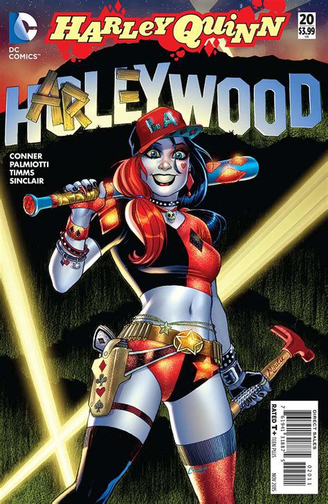harley quinn at high dc books preview harley quinn 20 all comic