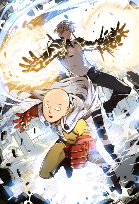 anime one punch man one punch man punch and anime on pinterest