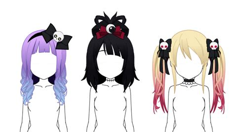 Kisekae MORE hair exports ! UPDATED by Omichiwon on DeviantArt