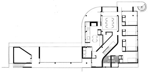 saltzman house plan gallery of ad classics saltzman house richard meier partners architects 10