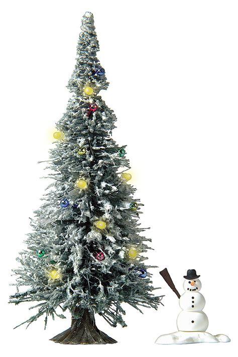 busch beleuchteter weihnachtsbaum h0
