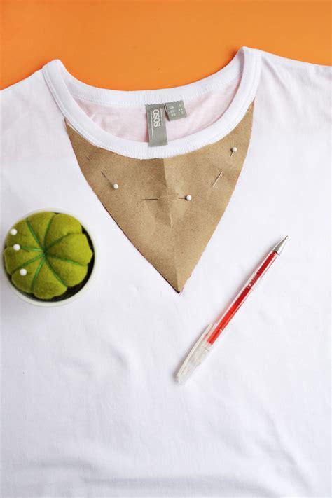 How To Make Tshirt easy choker t shirt diy a beautiful mess