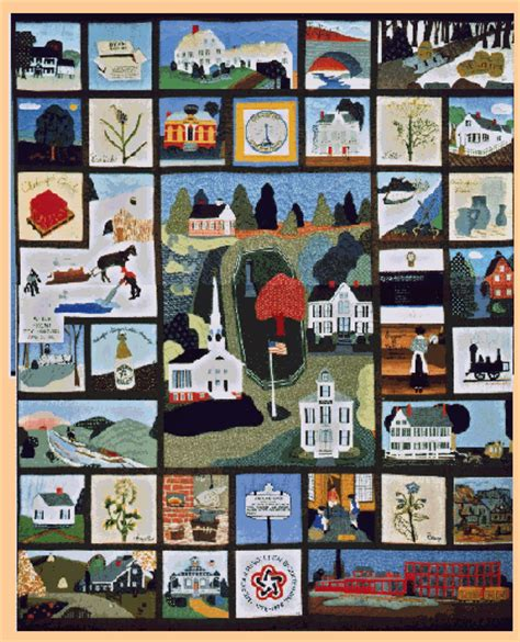 History Of The Quilt by Chelmsford Bicentennial Quilt