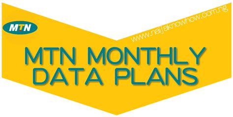 mtn mobile data mtn monthly data plans png naijaknowhow