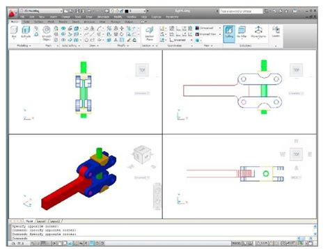 layout autocad viewport 3d models in viewports autocad 2011