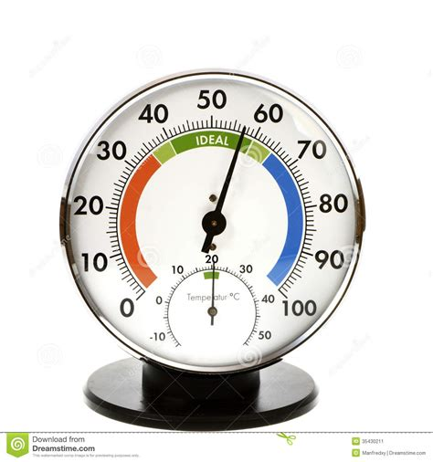 Jual Thermometer Hygrometer Analog hygrometer and thermometer stock image image of isolated