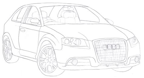 sketchbook how to draw audi a3 sketch by bigbc on deviantart