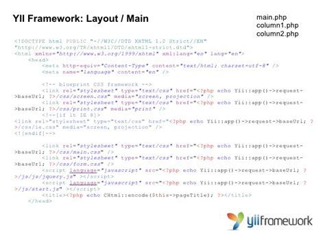 yii ajax layout iniciando com yii framework volmar machado da silva neto