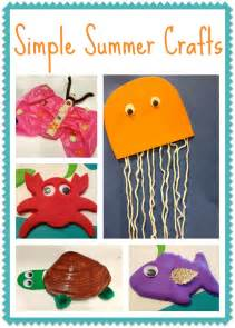 5 simple summer crafts for kids