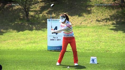 klpga swing slow hd lee seung hyun 2012 driver golf swing klpga tour