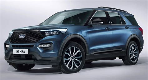 Ford Usa Explorer 2020 by 2020 Ford Explorer Phev Arriving In Europe With 450ps