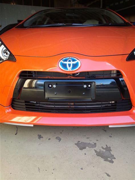 Toyota Prius Front Bumper Toyota Prius C Aqua Genuine Oem Front Bumper Black Garnish