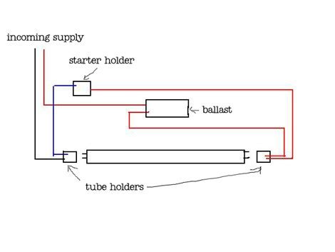 2 l t8 ballast wiring diagram converting t12 to t8