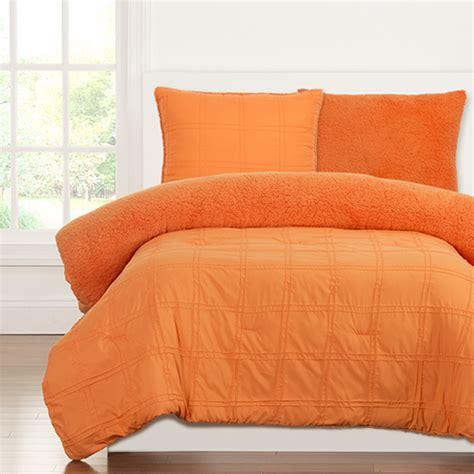 orange comforter twin playful plush outrageous orange by crayola bedding
