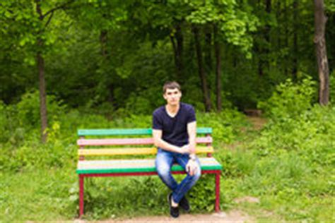 sitting on the bench waiting for you lonely boy sitting bench stock images 183 photos