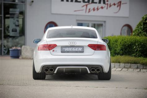 Audi A5 Diffusor by Rieger Rear Diffuser Valance Query Audi A5 Forum Audi