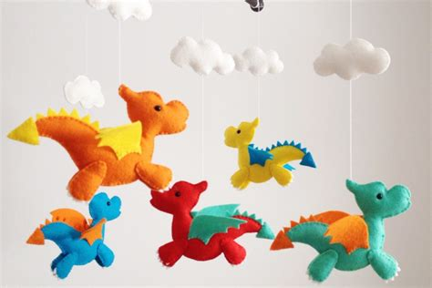 Handmade Baby Room Decorations - adorable baby crib mobiles from cinderella to ninjas