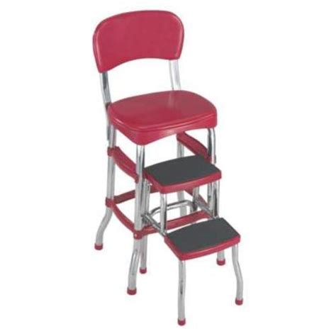 Step Stool Chair by Vintage Kitchen Retro Chair Bar Step Stool The