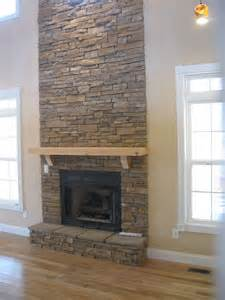 stacked fireplace stack fireplace crafts