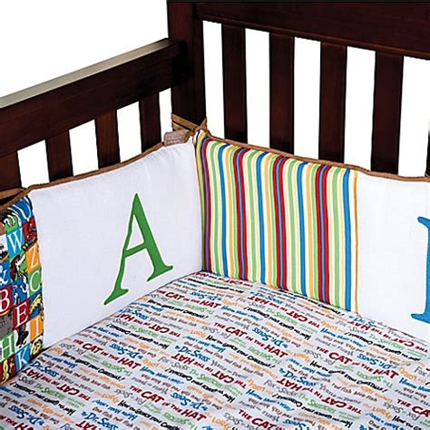 Dr Seuss By Trend Lab 174 Alphabet Seuss Crib Bumper Bed Dr Seuss Abc Crib Bedding
