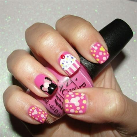birthday themed nails my nails for my nieces 1st birthday party that was on