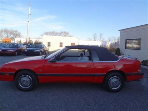 1993 chrysler for sale used cars on buysellsearch chrysler le baron convertible for sale used cars on buysellsearch